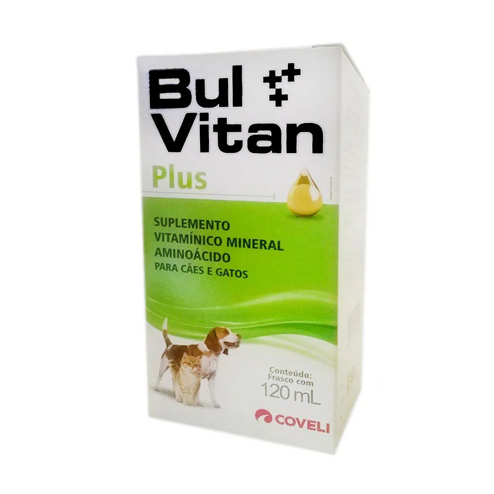 Complexo vitamínico coveli bulvitan plus 120ml
