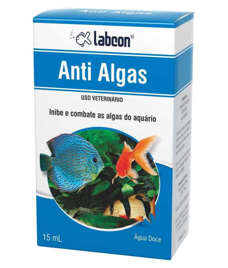 Condicionador de água labcon anti algas 15ml