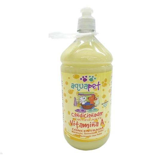 Condicionador Fortificante vitamina A 1L Aquapet