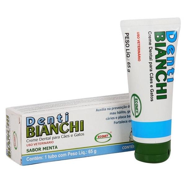 Creme dental ecovet denti bianchi 65g