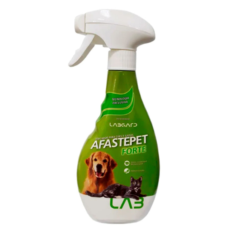 Educador labgard afaste pet forte spray para cães e gatos