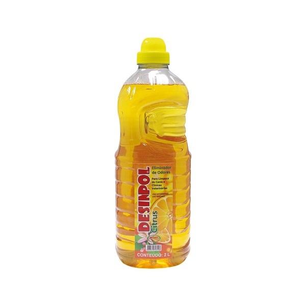 Eliminador de odores ecovet desinpol citrus 2L