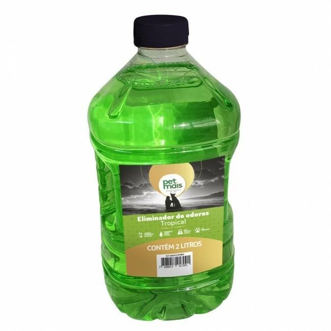 Eliminador de odores petmais tropical 2L