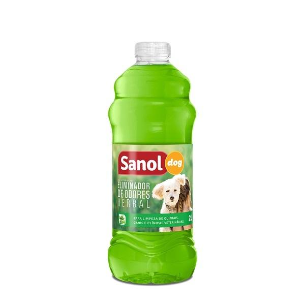 Eliminador de odores sanol herbal 2L