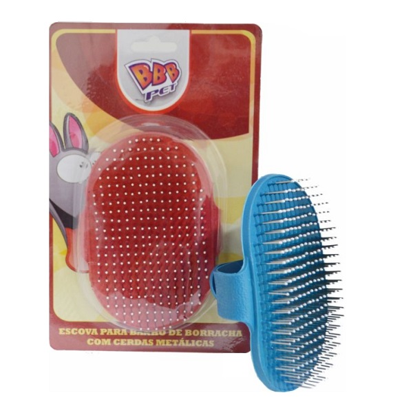 Escova para banho massageadora com cerdas BBB PET