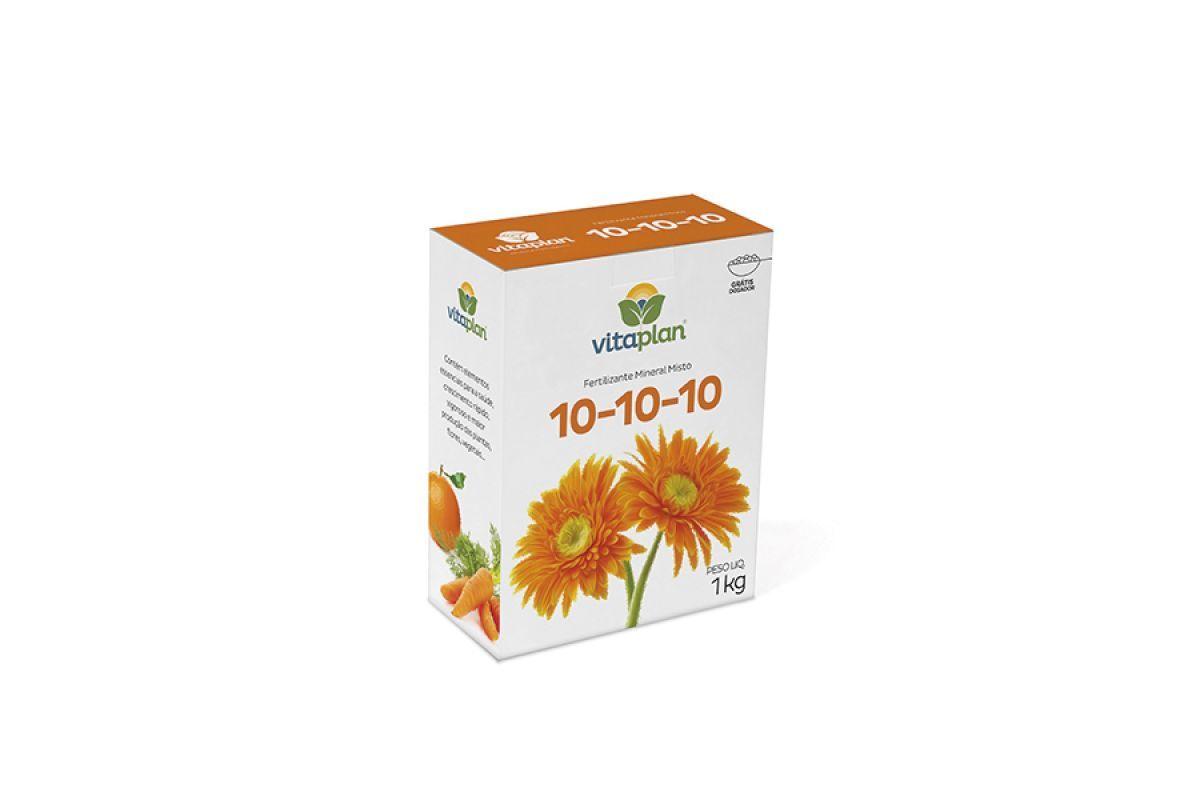 Fertilizante vitaplan 10-10-10 1kg