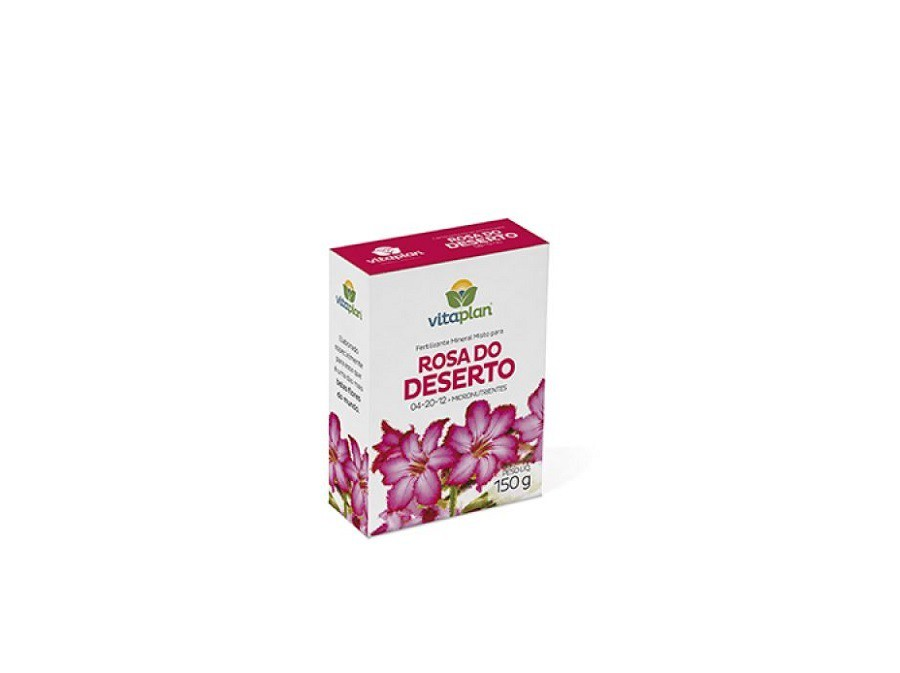 Fertilizante vitaplan rosa do deserto 150g