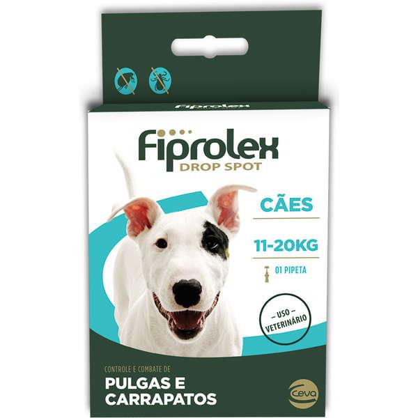 Antipulgas e carrapatos Fiprolex caes 11kg-20kg