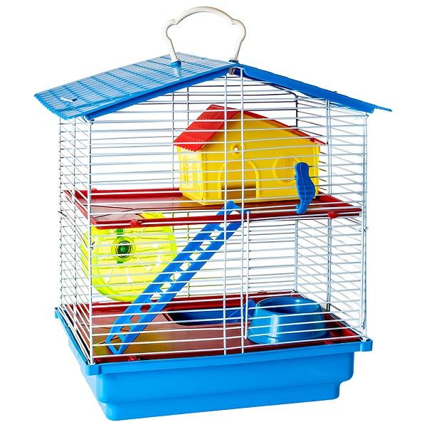 Gaiola desmontável de 2 andares para Hamster