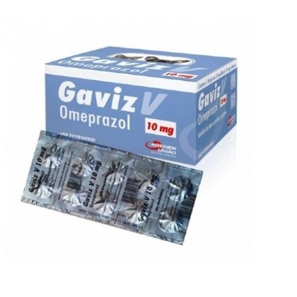 Gaviz V Omeprazol 10mg Strip com 10 Comprimidos
