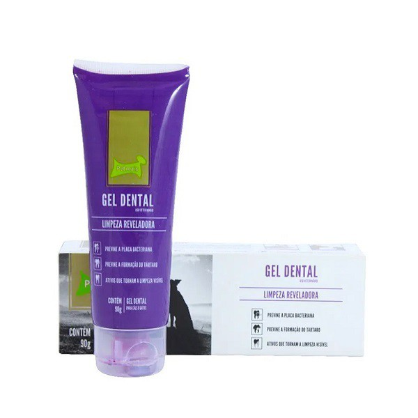 Gel Dental Petmais Limpeza Reveladora 90g