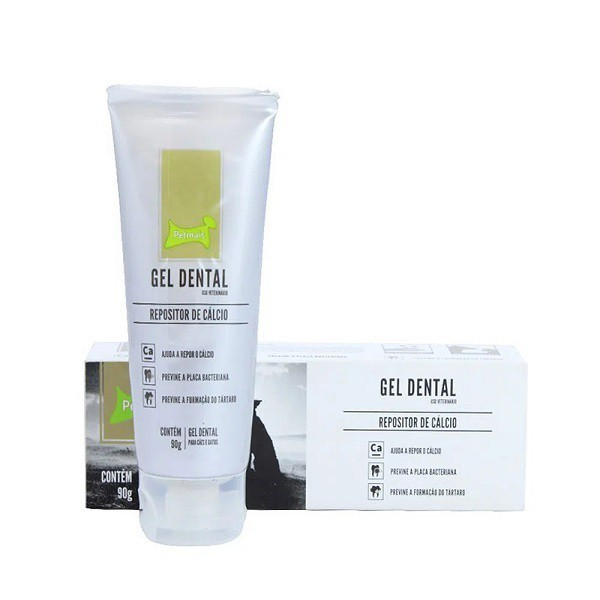 Gel Dental Petmais Repositor de Cálcio 90g