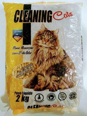 Granulado Higiênico de Madeira Cleanning Cats