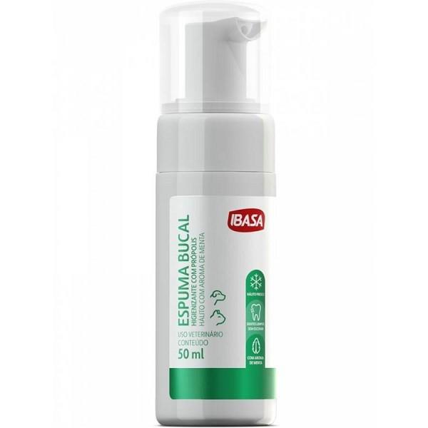 Higienizador espuma bucal ibasa 50ml