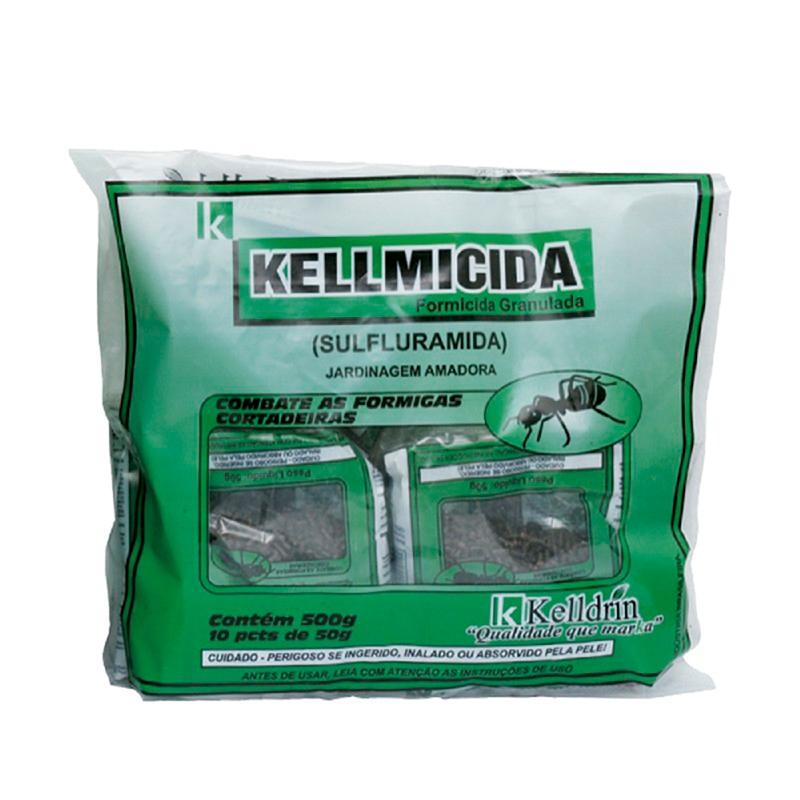 Inseticida Kellmicida para formigas Kelldrin 50g