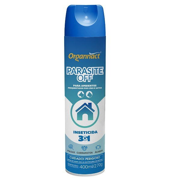 Inseticida parasite off aerosol 400ml