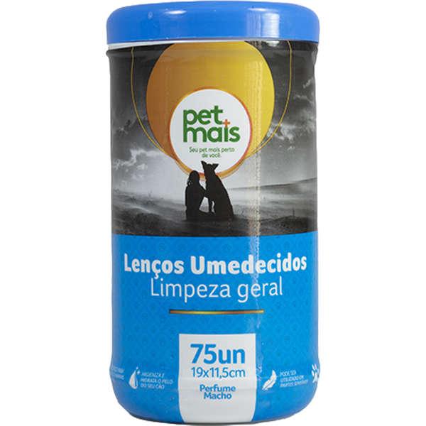 Lenços Umedecidos PetMais Fresh Pet Azul 75 und