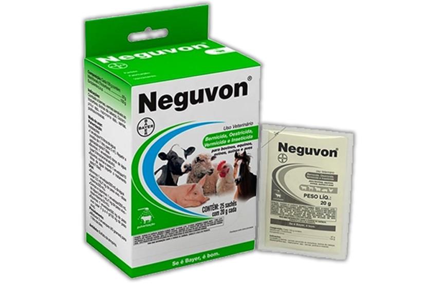 Neguvon pó - 20 gramas - bayer