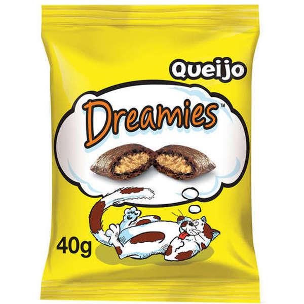 Petisco dreamies queijo 40g