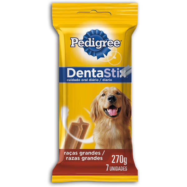 Petisco pedigree dentastix adulto raças grandes