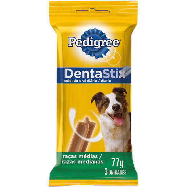 Petisco pedigree dentastix adulto raças médias