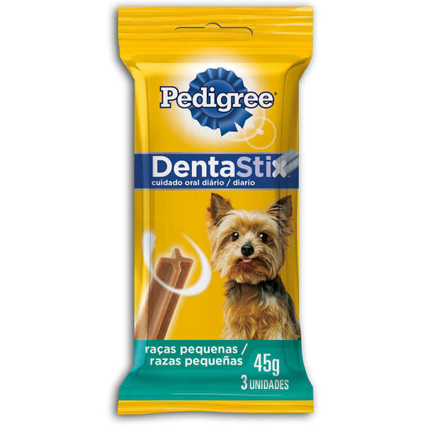 Petisco pedigree dentastix adulto raças pequenas