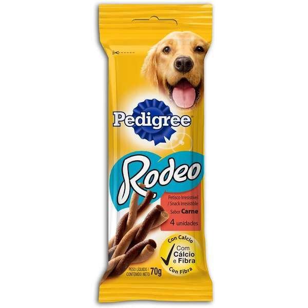Petisco pedigree rodeo carne 70g