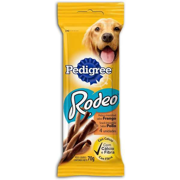 Petisco pedigree rodeo frango 70g