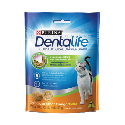 Petisco purina dentalife para gatos 40g