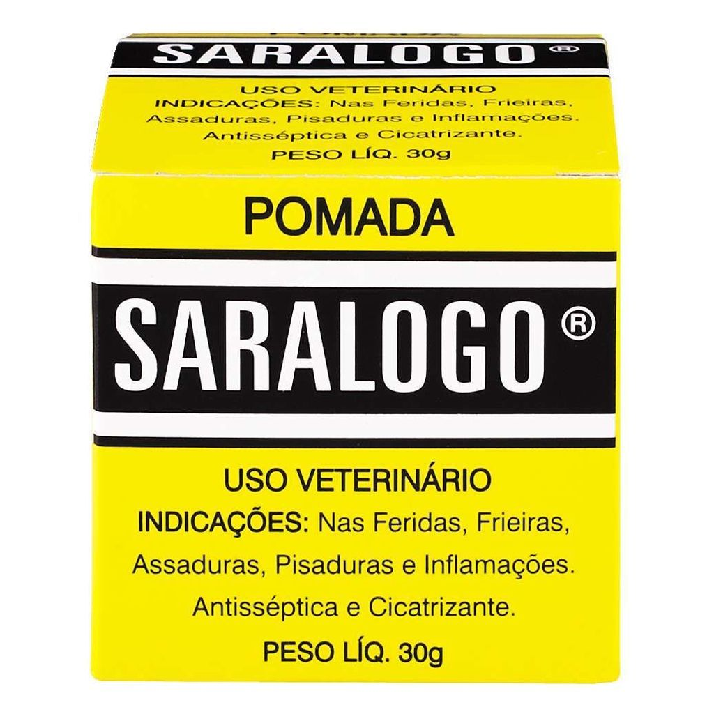 Pomada cicatrizante agro saralogo 30g