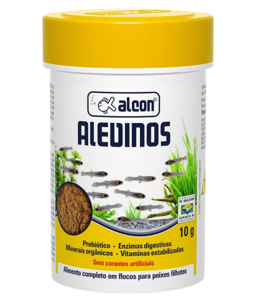 Ração alcon alevinos 10g