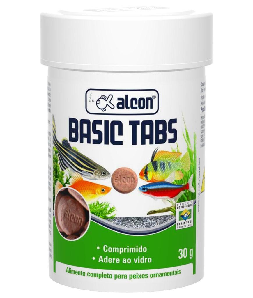 Ração alcon basic tabs 30g