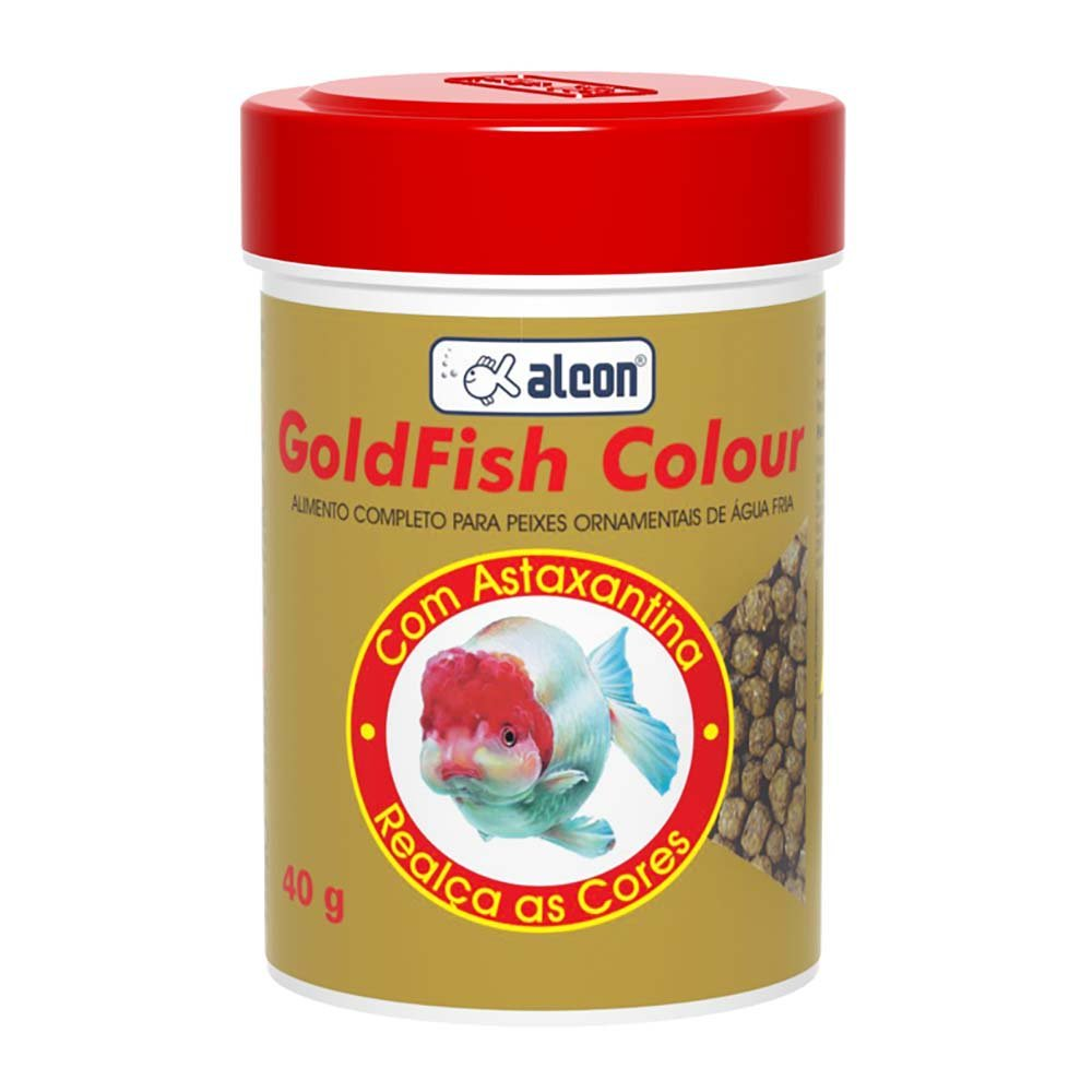 Ração alcon goldfish colour