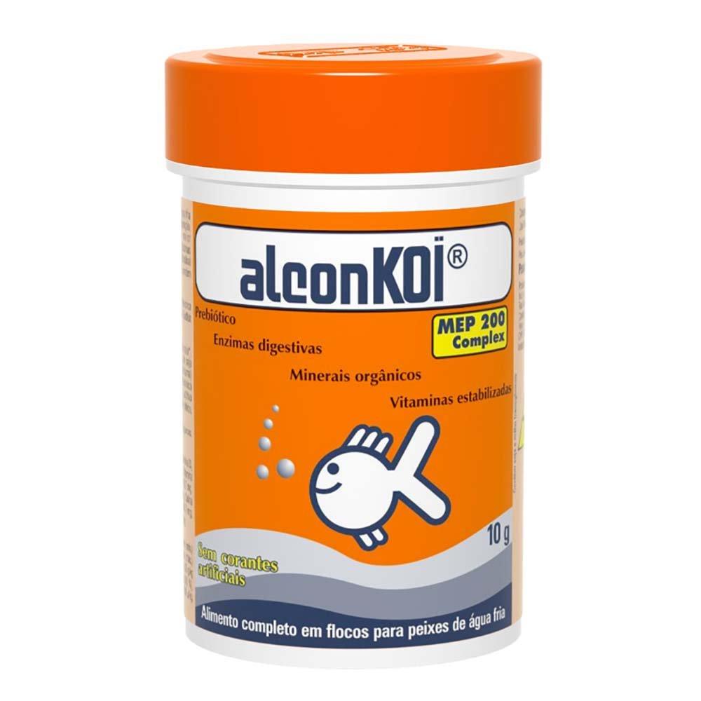 Ração alcon koi
