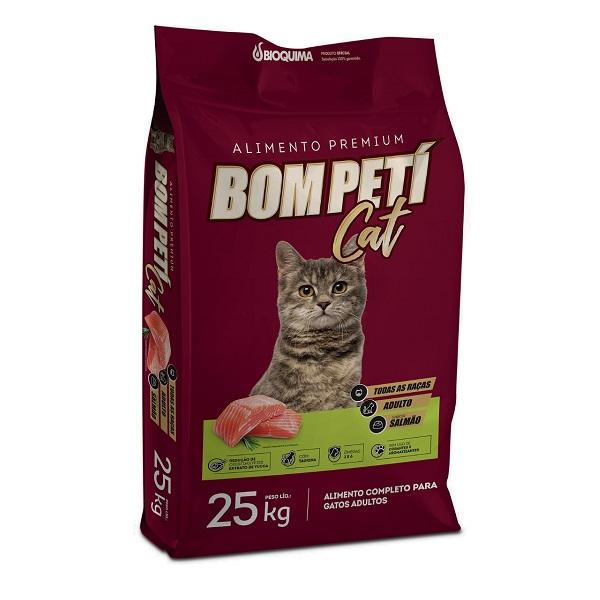 Ração Bom Peti Salmão para Gatos 25kg