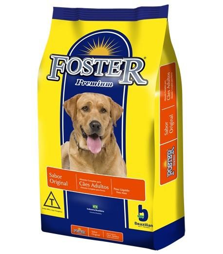 Ração brazilian foods foster cães adulto original premium 15kg