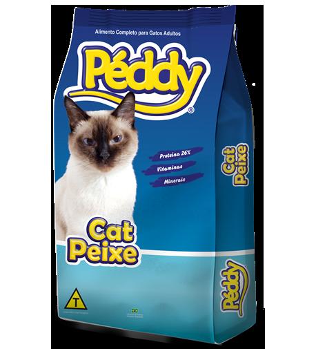 Ração brazilian foods peddy gato peixe 25kg