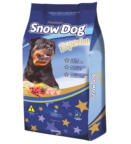 Ração brazilian foods snow dog especial adulto 15kg