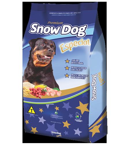 Ração brazilian foods snow dog especial adulto 15kg