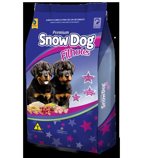 Ração brazilian foods snow dog filhotes