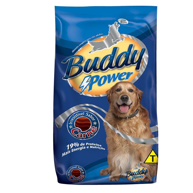 Ração Buddy Power Carne para Cães Adultos