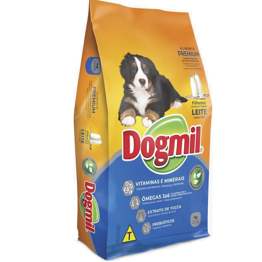 Ração Dogmil Leite Integral para Cães Filhotes