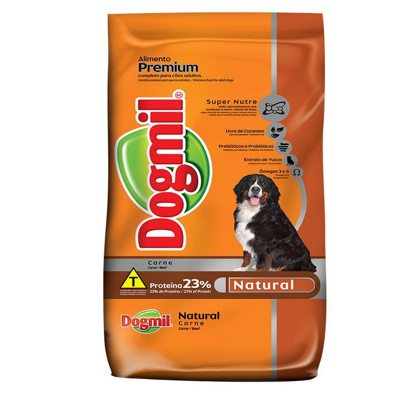 Ração Dogmil Natural Carne para Cães Adultos