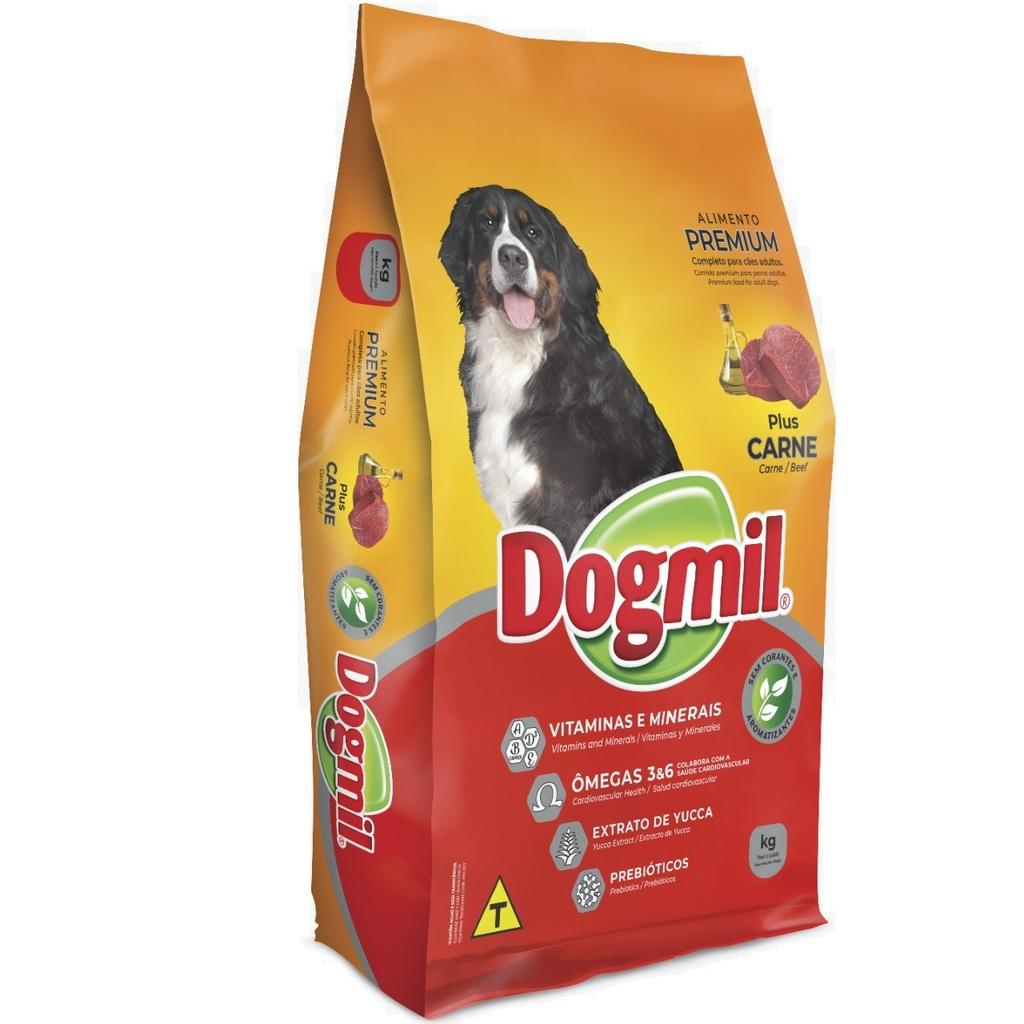 Ração Dogmil Plus Carne para Cães Adultos