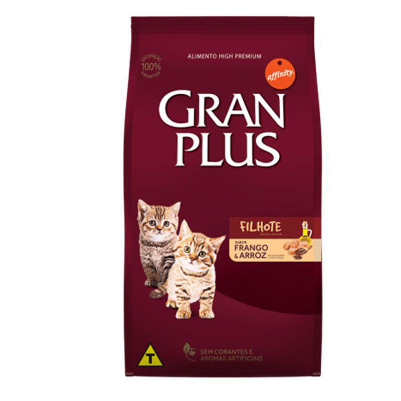 Ração Gran Plus Frango e Arroz para Gatos Filhotes