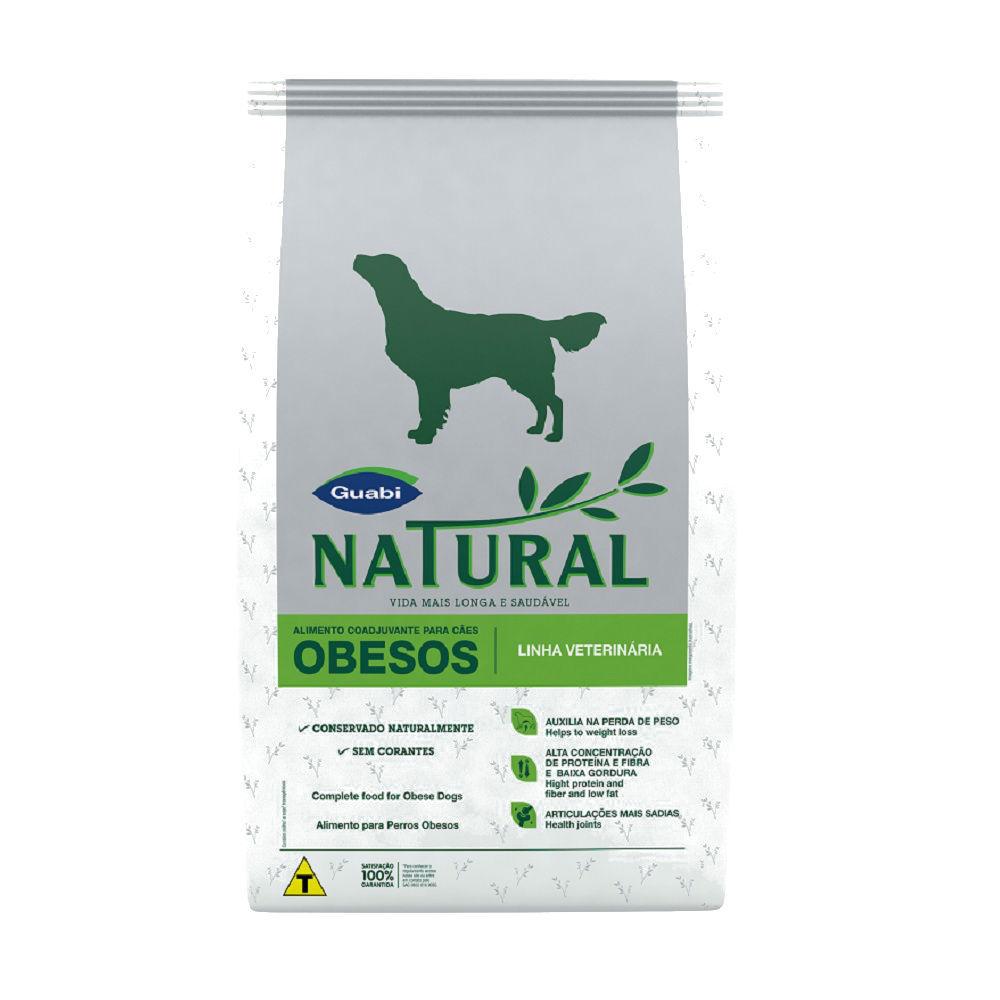 Ração guabi natural para cães adultos obesos 10kg