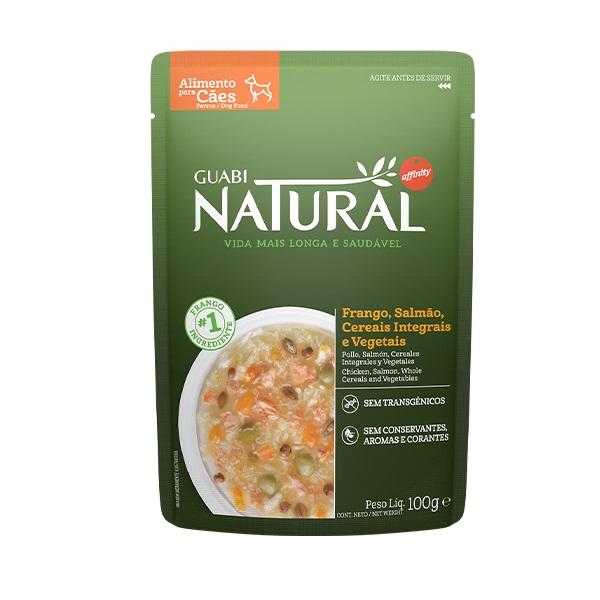 Ração Guabi Natural sache adulto frango, cereais e vegetais para cães 100g