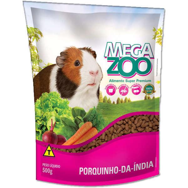 Ração megazoo mix para porquinho da índia 500g