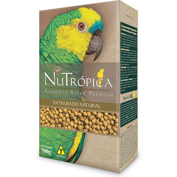 Ração nutrópica natural para papagaio 700g
