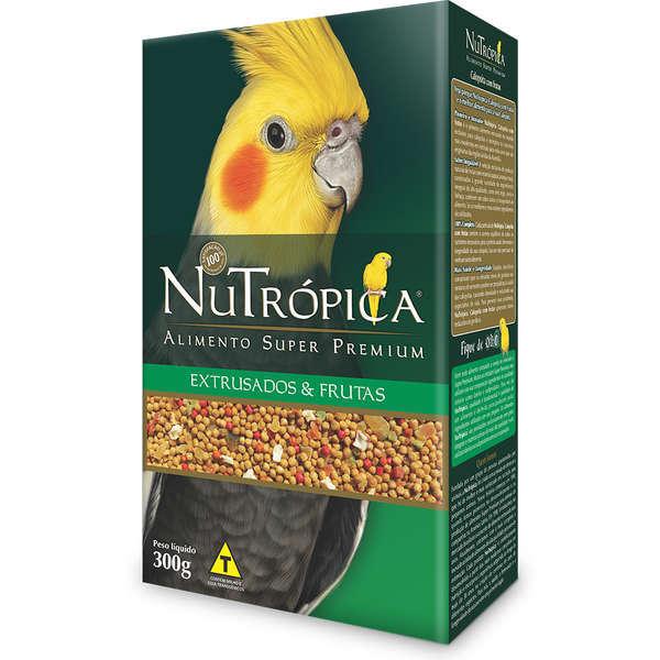 Ração nutrópica para calopsita com frutas 300g